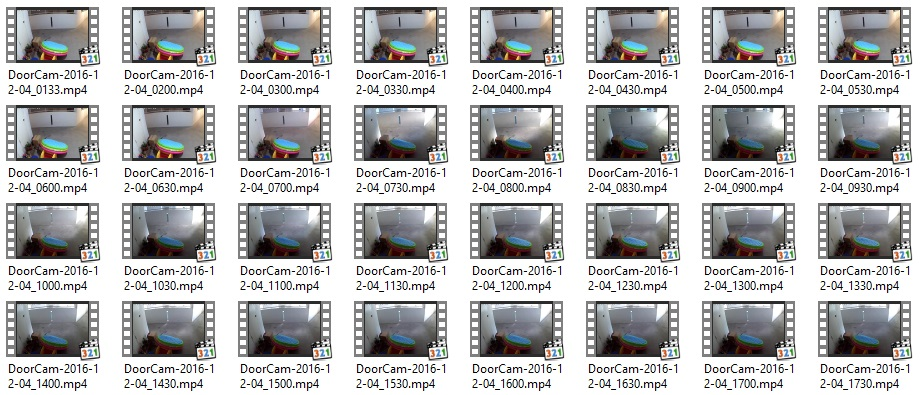 Recording IP Camera Footages onto NAS or local storage - fated net